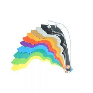 iTags Pour Lid Handle Set 10 Colour
