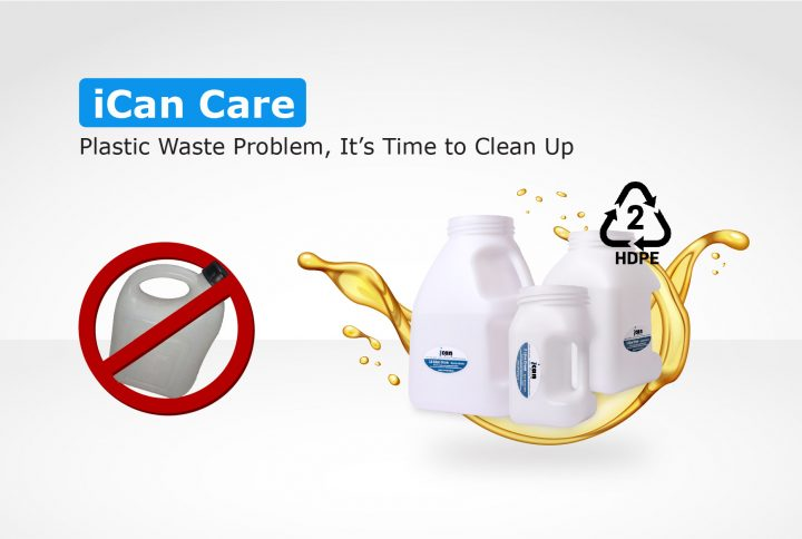 iCan Care: Plastic Waste Problem, It's Time to Clean Up